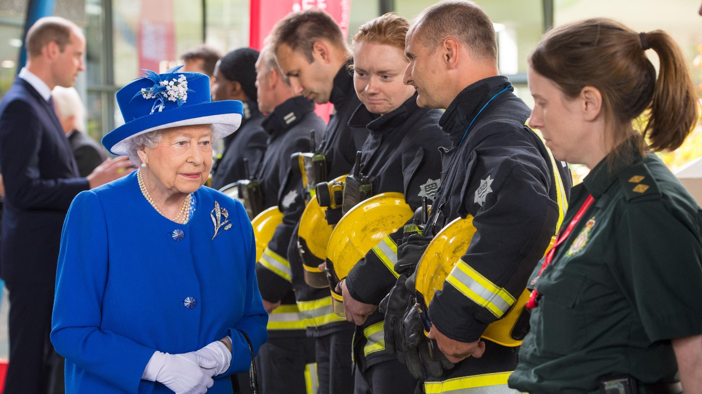 Queen says UK has been 'resolute in face of adversity'
