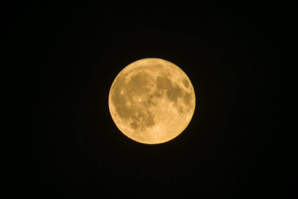 Did you see the Harvest Moon on Thursday?
